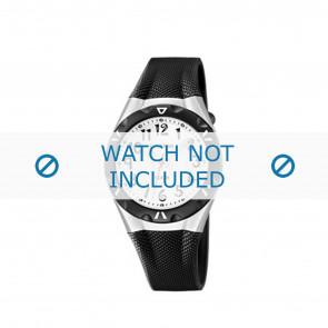 Horlogeband Calypso K6064-2 Kunststof/Plastic Zwart 13mm