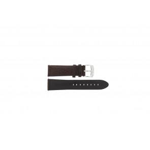Horlogeband Camel 4320-4347 / BC50938 WATERPROOF Leder Bruin 22mm