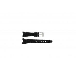 Horlogeband Camel 6000-6007 Leder Zwart 7mm