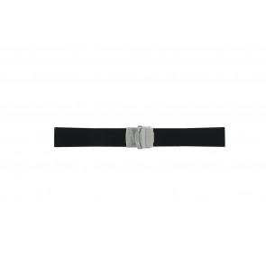 Horlogeband Camel BC51025 / A661.5326.PBPA / 5320-5329 Rubber Zwart 22mm