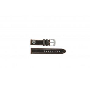 Horlogeband Camel BC51054 / Active Leder Bruin 18mm