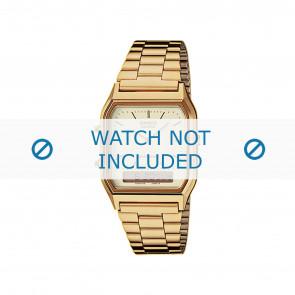 Horlogeband Casio AQ-230GA-9DMQYES / 10339808 Staal Doublé 18mm