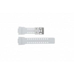Casio horlogeband GA100A-7AW Rubber Wit 27mm