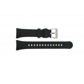 Horlogeband Citizen 59-T50859 Rubber Zwart 27mm
