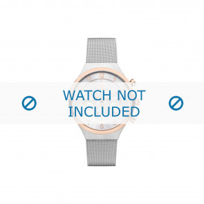 Horlogeband Danish Design IQ67Q1113 Mesh/Milanees Staal 19mm