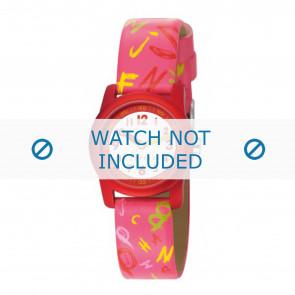 Esprit horlogeband ES000FA4-40RZ / 000FA4032 Leder Roze