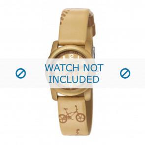 Esprit horlogeband ES000FA4-40TAU / 000FA4045 Leder Taupe