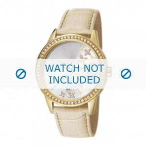 Horlogeband Esprit ES107302004-40L Leder Beige 18mm