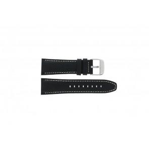 Horlogeband Lotus 15536 Leder Zwart 26mm