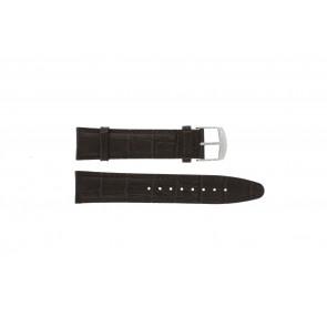 Festina horlogeband F16872.2 Leder Bruin + bruin stiksel