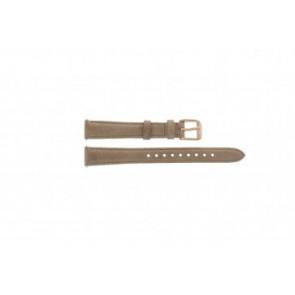 Fossil horlogeband ES-3487 Leder Bruin 14mm