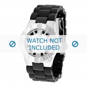 Guess horlogeband 80332L1 Rubber Zwart