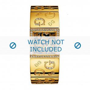 Guess horlogeband 90222L1 Staal Goud