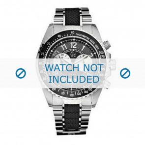 Guess horlogeband GC38002G Staal Zilver