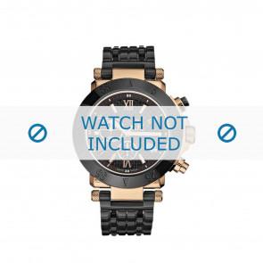 Guess horlogeband GC47000G Staal Zwart