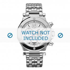 Guess horlogeband GC47500 / 41002G1 Staal Zilver