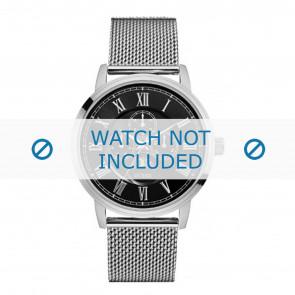 Guess horlogeband W0871G1 Delancy Staal Zilver 22mm