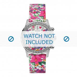 Guess horlogeband W0903L1 Melody Textiel Multicolor 20mm + standaard stiksel