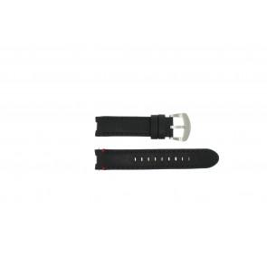 Horlogeband Buddha to Buddha BTB.F.R.CH.05 Leder Zwart 18mm
