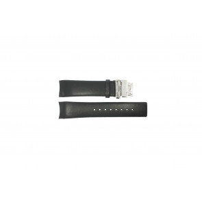 Calvin Klein horlogeband K1V278 Leder Zwart 22mm