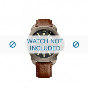 Horlogeband Hugo Boss HB-238-1-34-2757 / 1513168 Leder Bruin 24mm