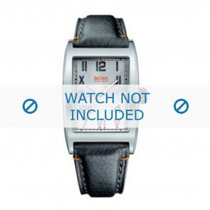 Horlogeband Hugo Boss 659302084 / 1512307 / 1512308 / HB-33-1-14-2081 Leder Zwart 24mm