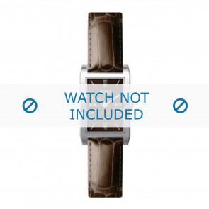 Horlogeband Hugo Boss HB-22-3-14-2009 Leder Bruin 12mm