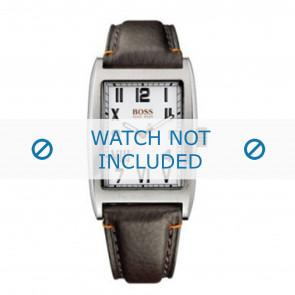 Horlogeband Hugo Boss HO1512135 / HO1512136 / 659302068 / HB-33-1-14-2056 Leder Bruin 23mm