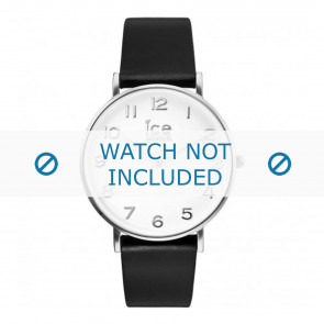 Ice Watch horlogeband 001502 / CT.BSR.36.L.16 Leder Zwart 18mm