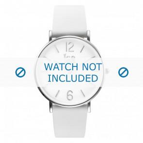 Horlogeband Ice Watch CT.WSR.36.L.16 Leder Wit 18mm