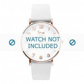 Horlogeband Ice Watch CT.WRG.36.L.16 Leder Wit 18mm