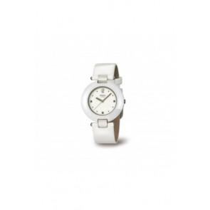 Horlogeband Boccia BO3190 Leder Wit