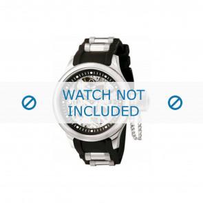 Invicta horlogeband 1088-01 Rubber Zwart