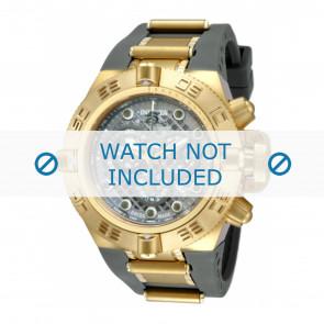 Invicta horlogeband 11797 Subaqua Rubber Grijs 32mm