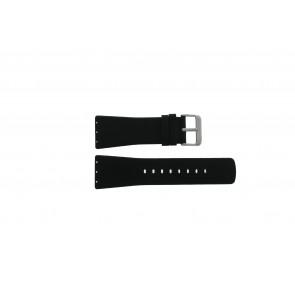 Danish Design horlogeband IV13Q729 Leder Zwart 28mm