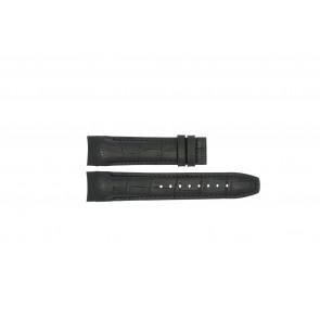Horlogeband Jaguar J678 / J679.A Leder Zwart 22mm