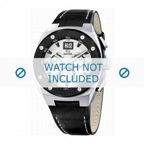 Horlogeband Jaguar J620-1 Leder Zwart 16mm