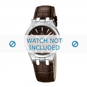 Horlogeband Jaguar J674-2 Leder Bruin 18mm