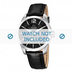 Horlogeband Jaguar J678.A Leder Zwart 22mm
