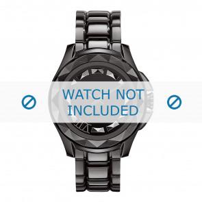 Horlogeband Karl Lagerfeld KL1001 Staal Zwart 20mm