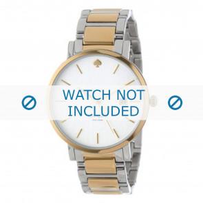 Kate Spade New York horlogeband 1YRU0108 Staal Bi-Color