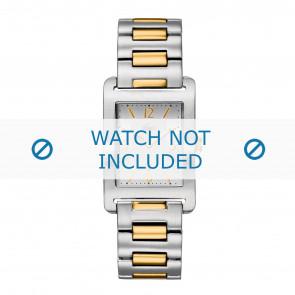 Lacoste horlogeband LC-05-1-14-0005 / 2010307 Staal Bi-Color