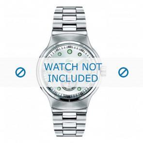 Lacoste horlogeband LC-09-1-14-0020 / 2010315 Staal Zilver