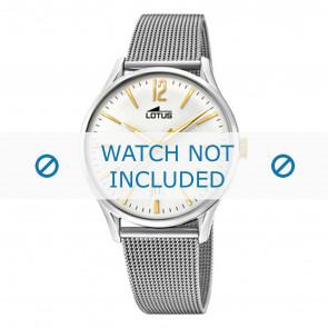 Lotus horlogeband 18405-1 / 18405-2 / 18405-3 / 18405-4 Staal Zilver
