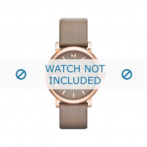Horlogeband Marc by Marc Jacobs MBM1266 / MBM3244 Leder Taupe 18mm