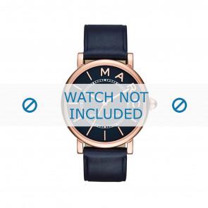 Horlogeband Marc by Marc Jacobs MJ1534 Leder Blauw 18mm