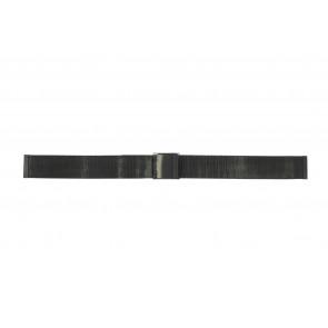 Horlogeband Universeel 14.1.5-ST-ZW Mesh/Milanees Zwart 14mm