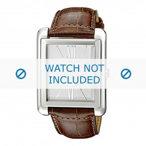 Horlogeband Michael Kors MK2244 Leder Cognac 24mm