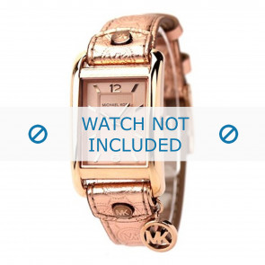 Horlogeband Michael Kors MK2248 Leder Rosé 18mm