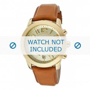 Horlogeband Michael Kors MK2251 Leder Cognac 22mm